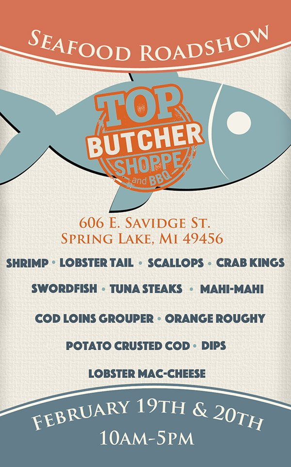 Top Butcher Shoppe - Seafood Roadshow