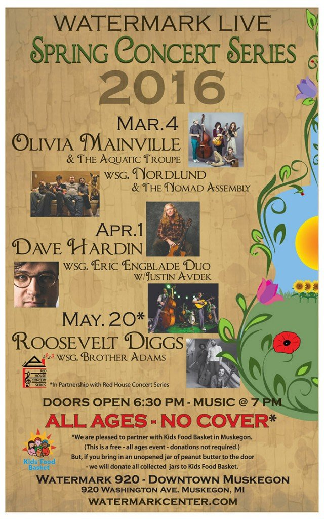 Watermark Live - Spring Concert Series 2016
