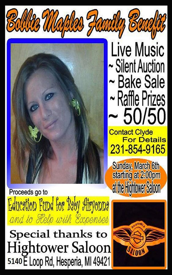 Mar 6 – Bobbie Maples Family Benefit