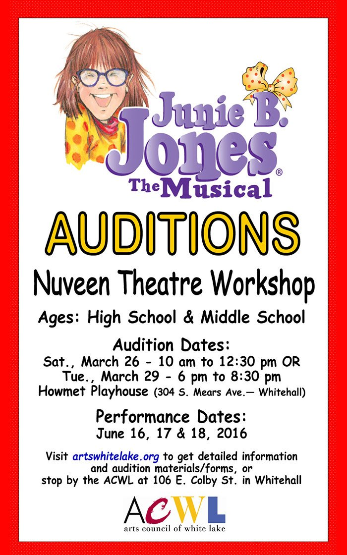 Junie B Jones Auditions