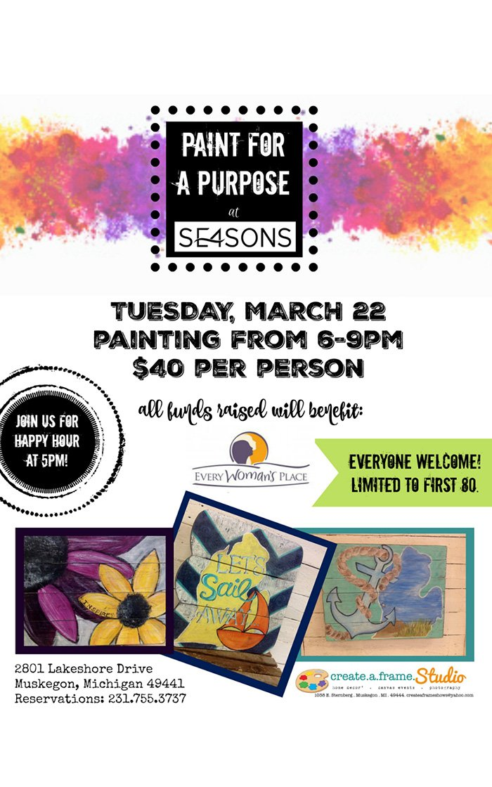 Mar 22 – Paint for a Purpose