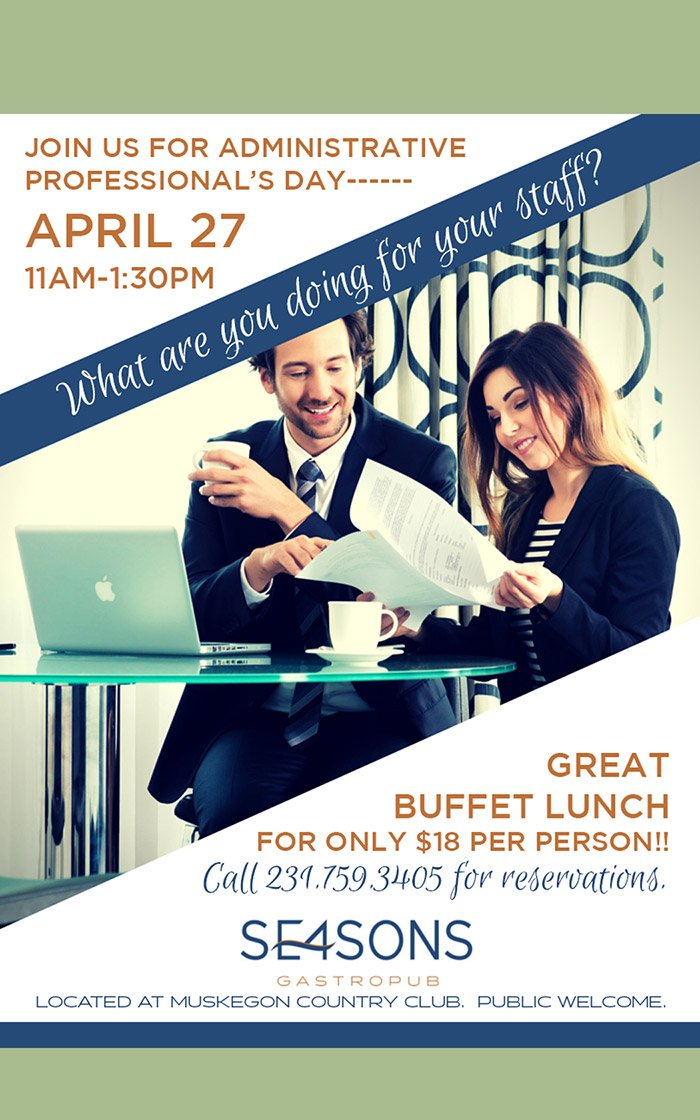 Apr 27 – Administrative Professional's Day at SE4SONS Gastropub
