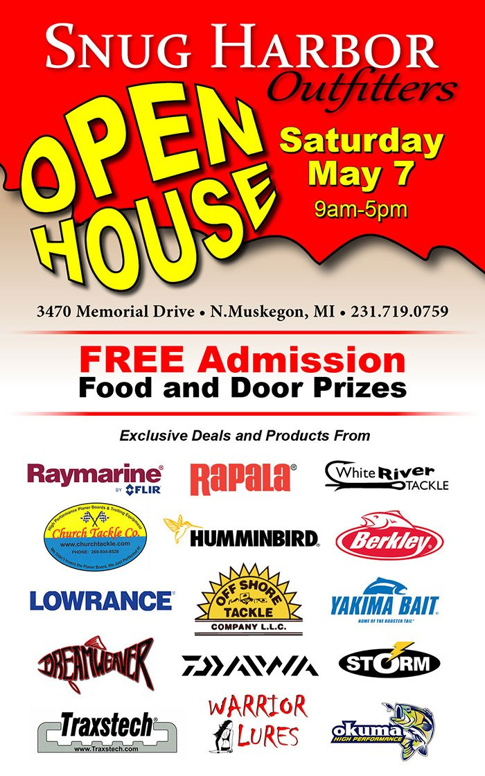 May 7 – Snug Harbor Outfitters Open House