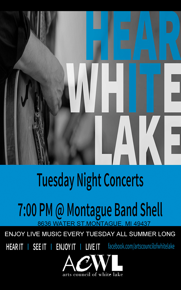 Tuesday Night Concerts – Montague Band Shell