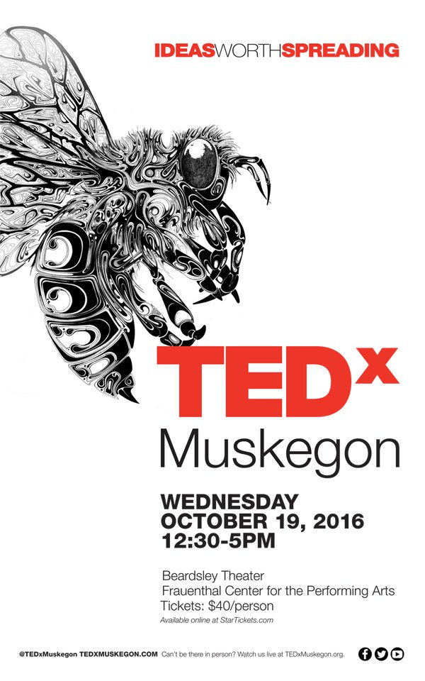 Oct 19 – TEDx Muskegon 2016