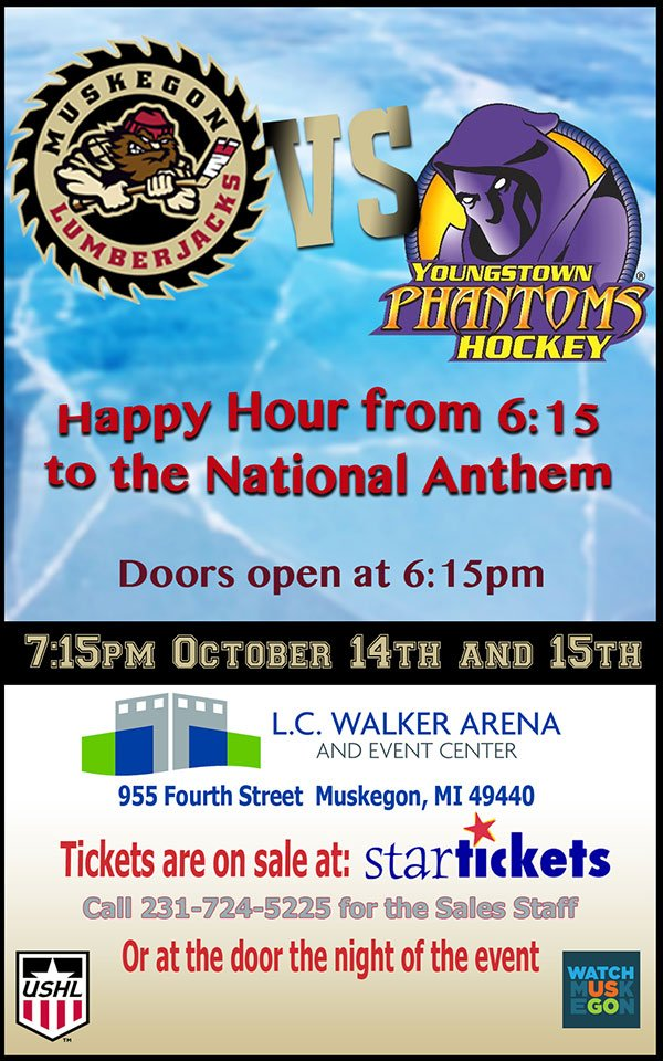 Oct 14,15 – Happy Hour before the Lumberjacks Game