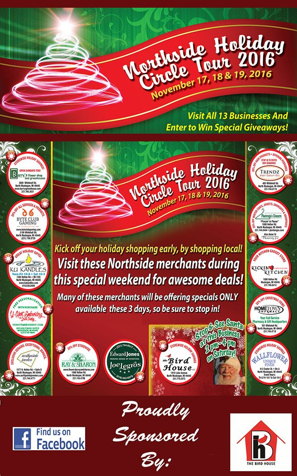 Nov 17, 18 & 19 – Northside Holiday Circle Tour
