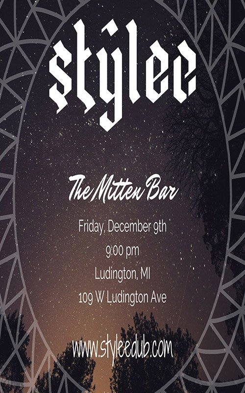 Dec 9 – Stylee – The Mitten Bar