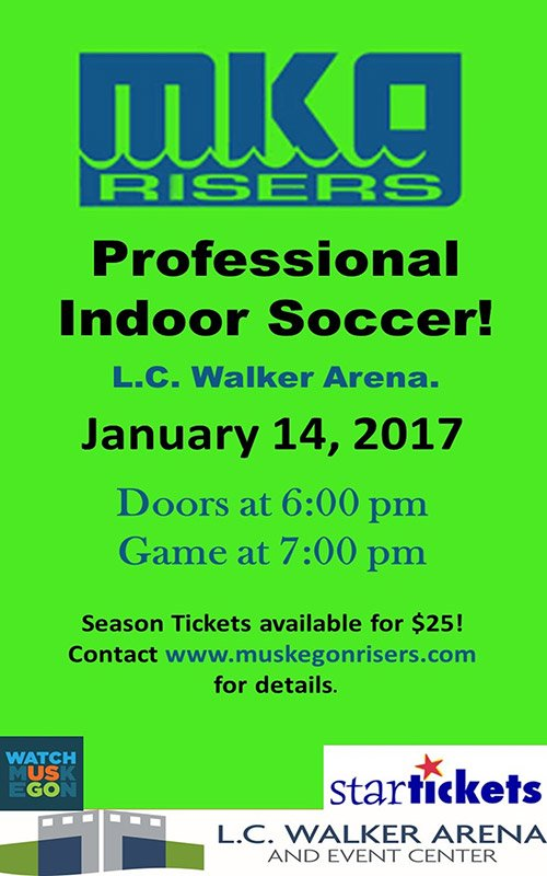Jan 14 – Muskegon Risers Game