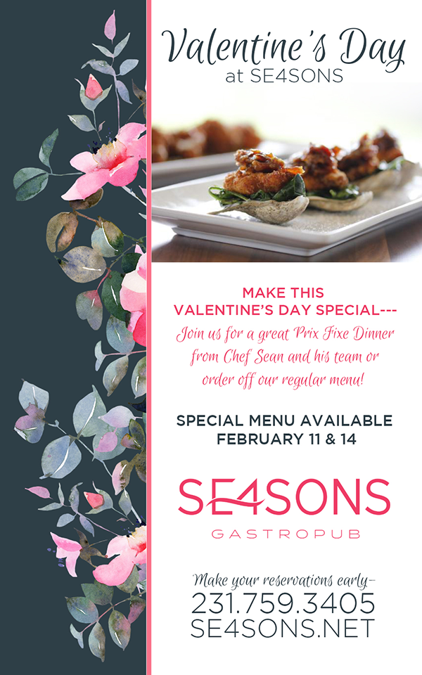 Feb 14 – Valentine's Day at SE4SONS Gastropub
