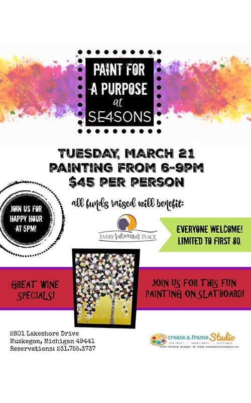 Mar 21 – SE4SONS – Paint for a Purpose