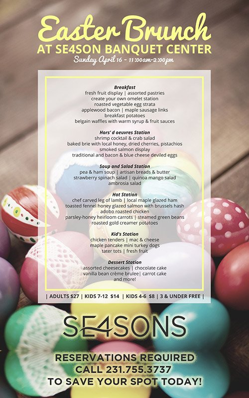 Apr 16 – SE4SONS – Annual Easter Brunch