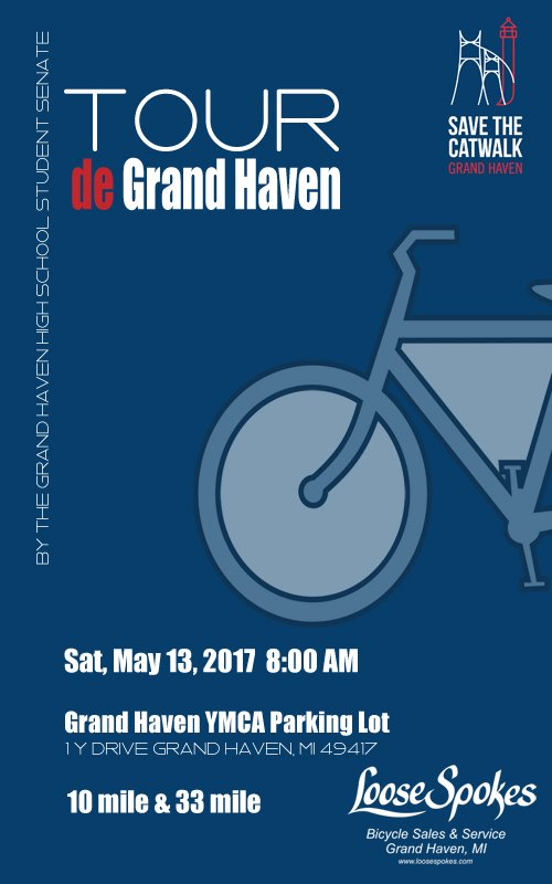 May 13 – Tour de Grand Haven