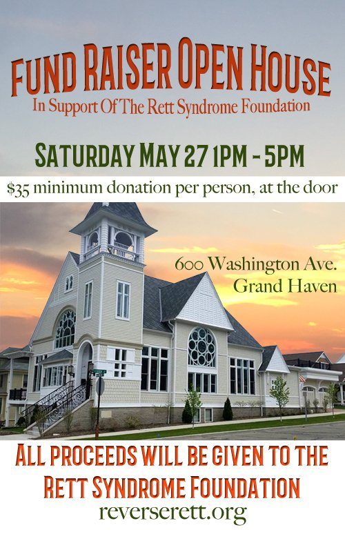 May 27 – Fundraiser Open House