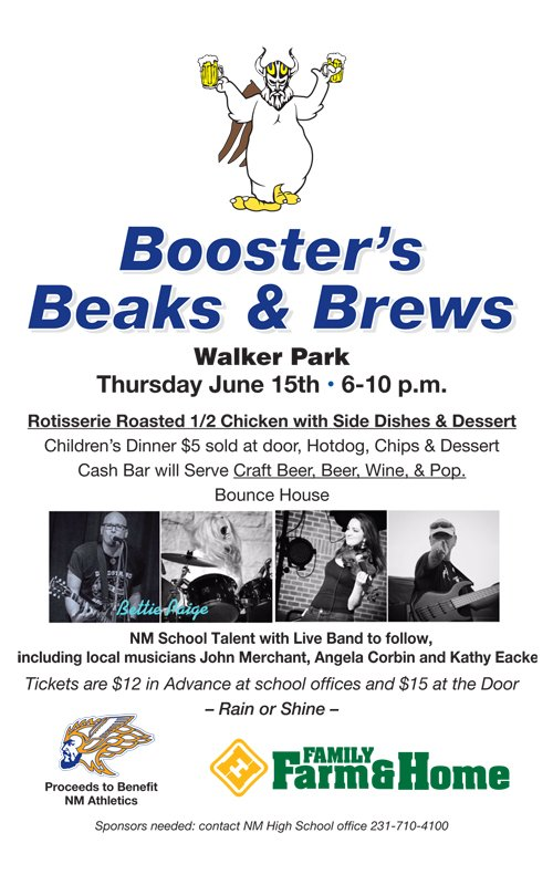 June 15 –  NM Booster's Beaks & Brews