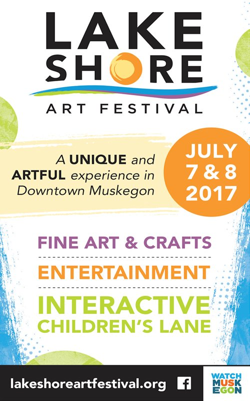 July 7 & 8 – Lakeshore Art Festival
