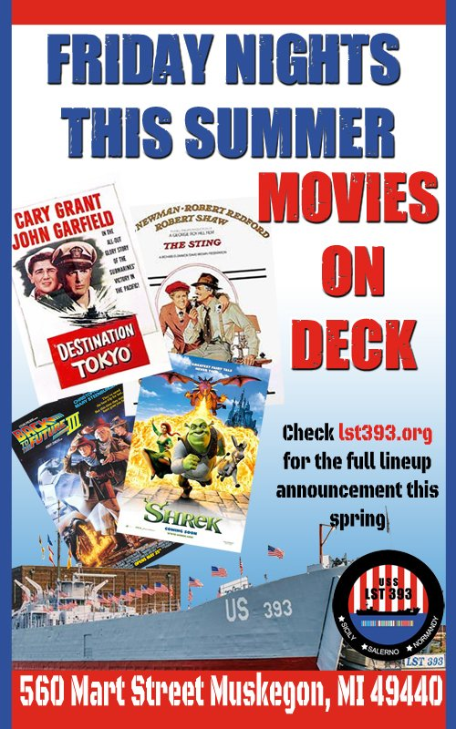 Friday Nights this Summer – Movies On Deck
