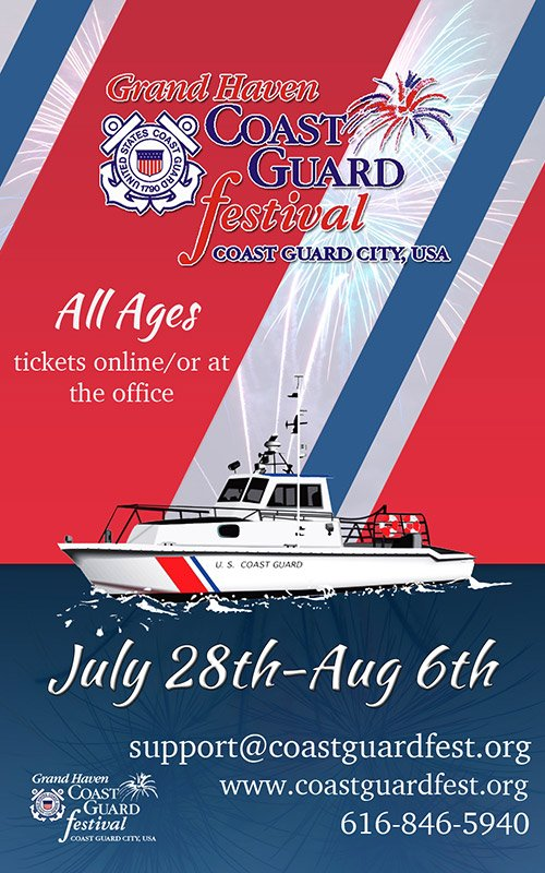 July 28-Aug 6  – Grand Haven Coast Guard Festival