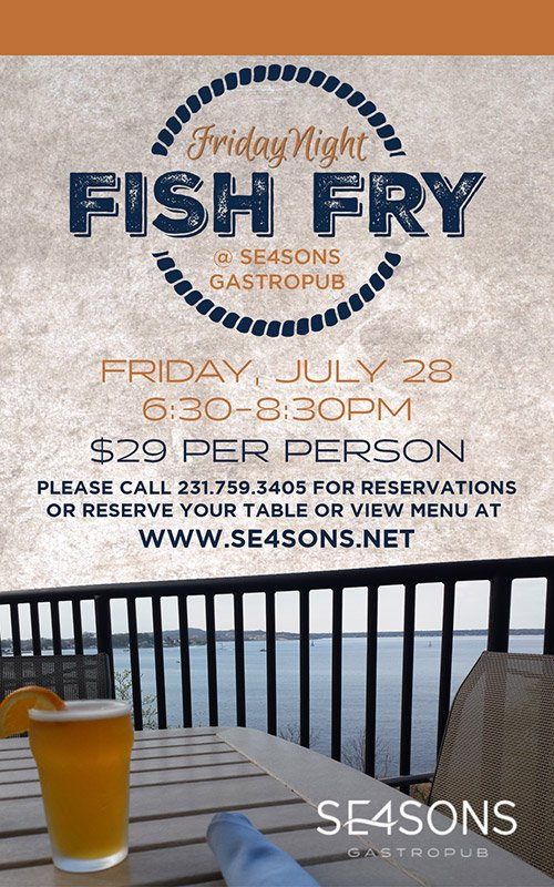 July 28 – FISH FRY at SE4SONS Gastropub