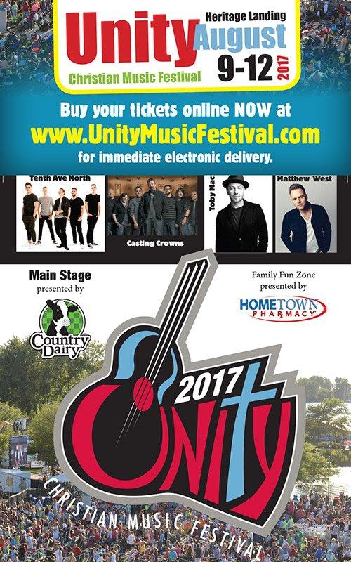 Aug 9-12 – Unity Christian Music Festival