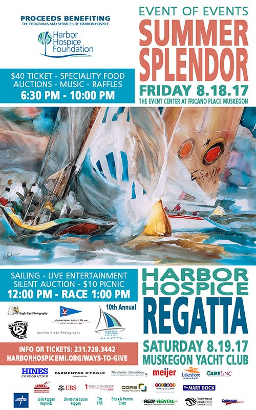 Aug 18, 19 – Summer Splendor – Harbor Hospice Regatta