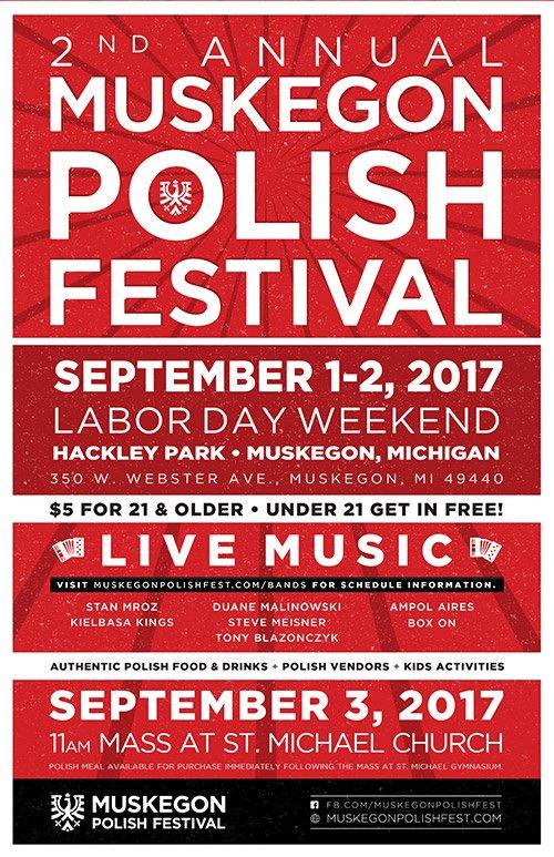 Sept 1 & 2 – Muskegon Polish Festival