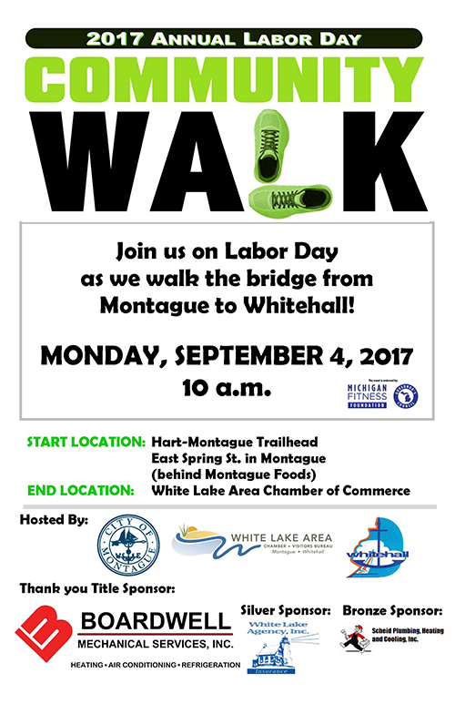 Sept 4 – Labor Day Community Walk