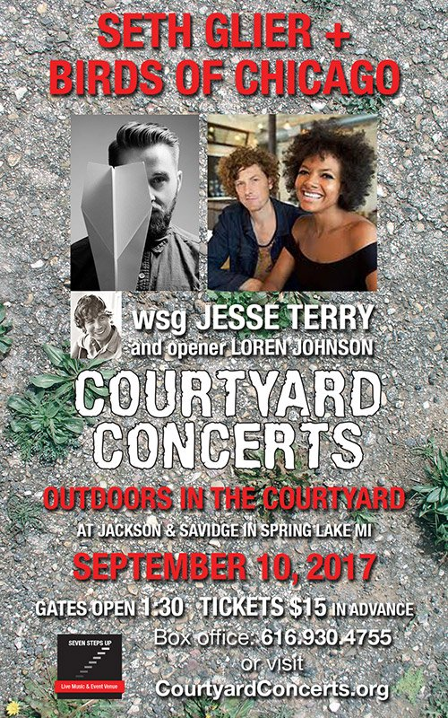 Sept 10 – Courtyard Concerts