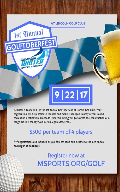Sept 22 – 1st Annual GOLFOBERFEST