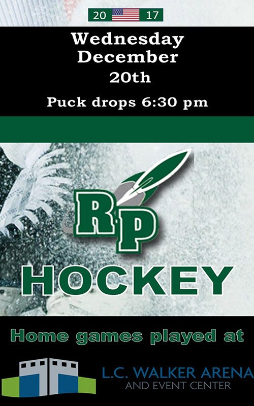 Dec 20 – RP Hockey – L.C. Walker Arena