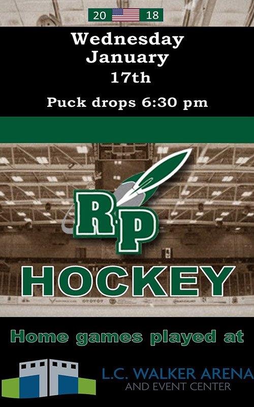 Jan 17 – RP Hockey – L.C. Walker Arena
