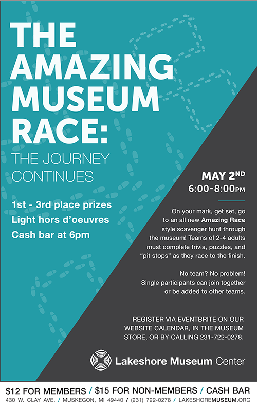 May 2 – The Amazing Museum Race