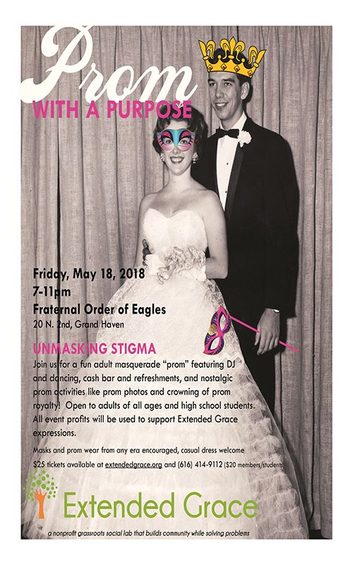 May 18 – Prom with a Purpose: Unmasking Stigma