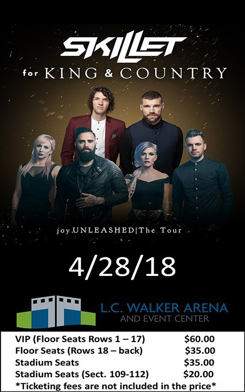 Apr 28 – Concert – Skillet – for King & Country