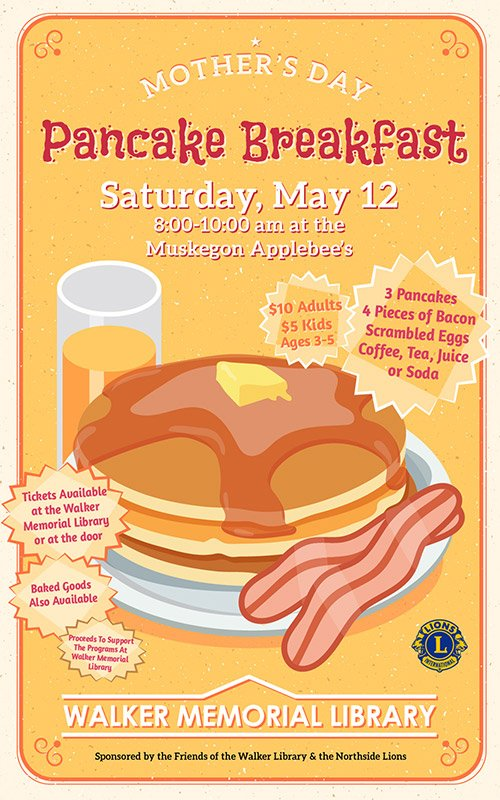 May 12 – Mother's Day Pancake Breakfast