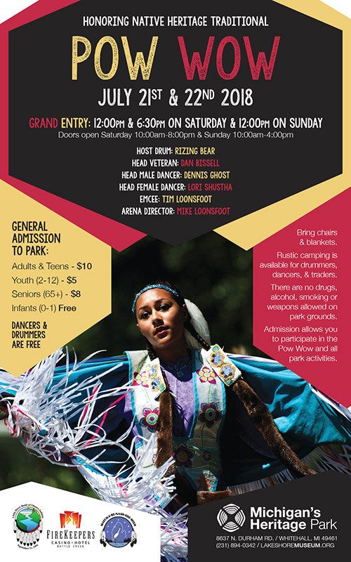 July 21-22 – Honoring Native Heritage Traditional Pow Wow