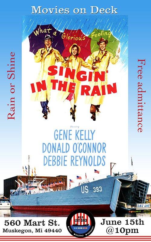 June 15 – Movies On Deck – Singin' in the Rain
