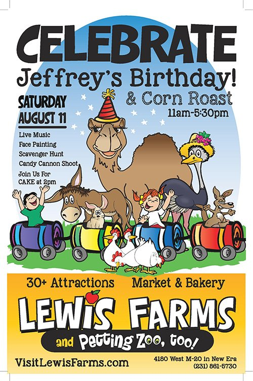 Aug 11 – Jeffrey's Birthday & Corn Roast