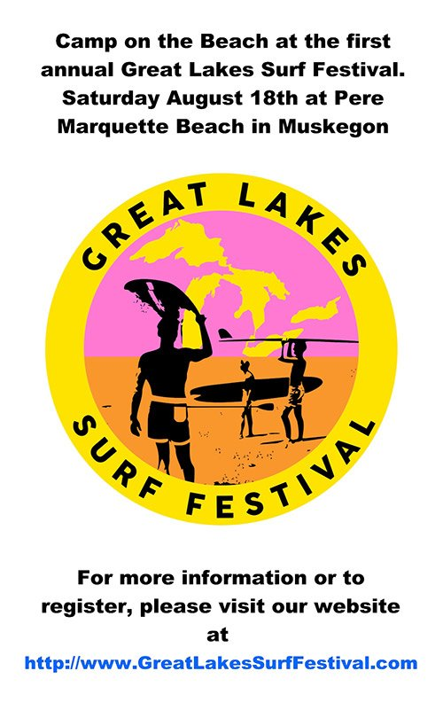 Aug 18 – Great Lakes Surf Festival