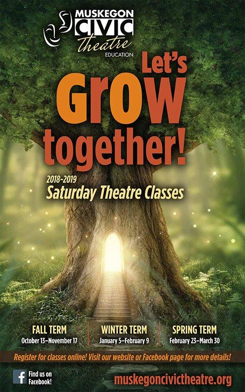 2018-2019 Saturday Theatre Classes – Muskegon Civic Theater