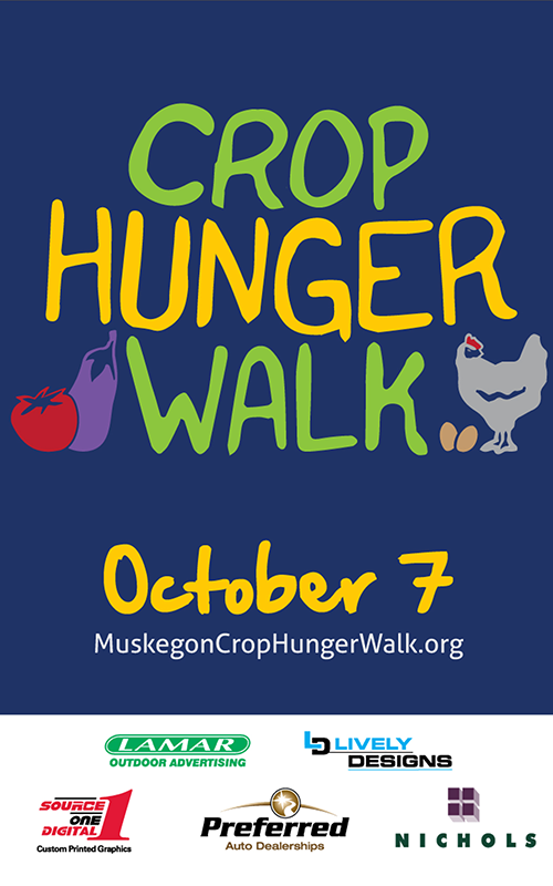 Oct 7 – Muskegon Crop Hunger Walk