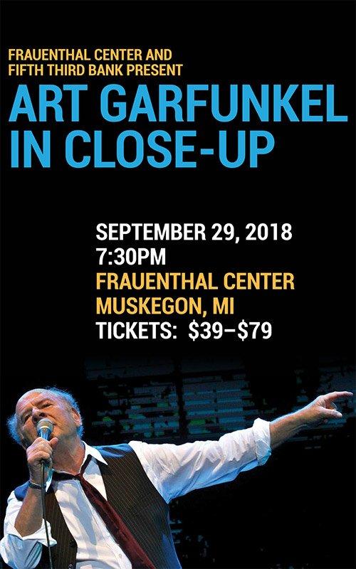 Sep 29 – Art Garfunkel in Close-Up