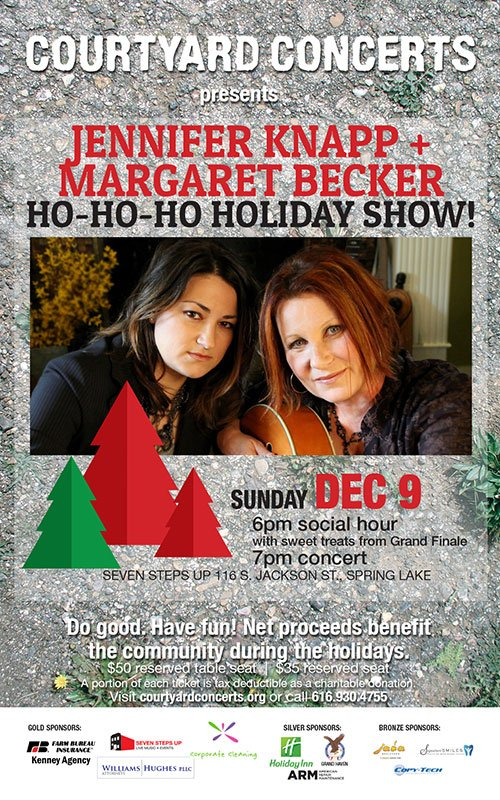 Dec 9 – Courtyard Concerts Presents A Ho-Ho-Ho Holiday Show
