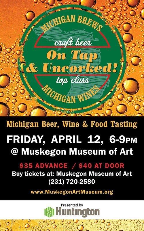 Apr 12 – On Tap & Uncorked