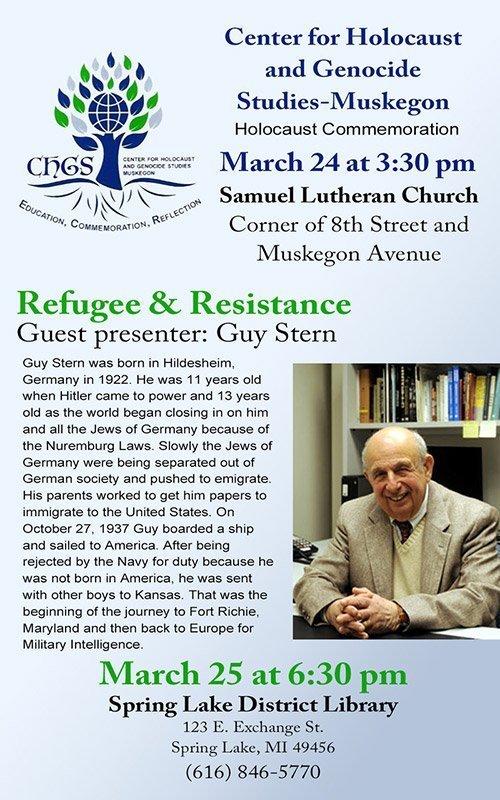 Mar 24, 25 – Refugee & Resistance