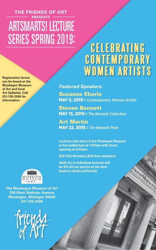 May – ArtSmarts! Lecture Series Spring 2019 – Muskegon Museum of Art