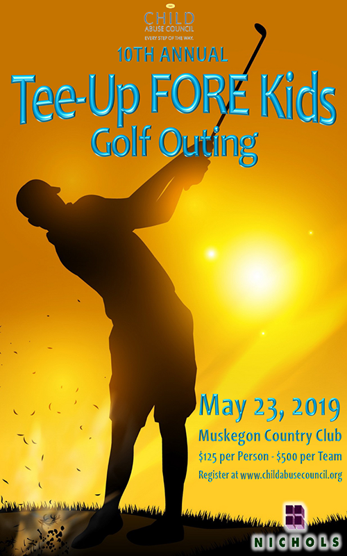 May 23 – Tee-Up FORE Kids Golf Outing