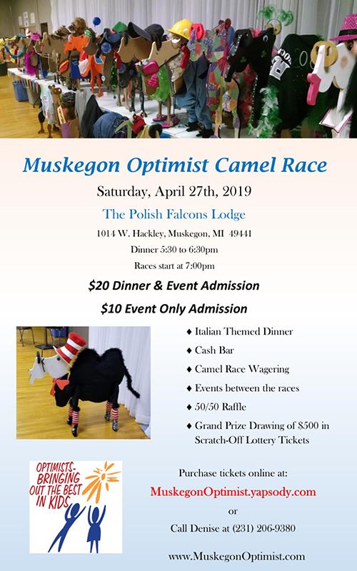 Apr 27 – Muskegon Optimist Camel Race
