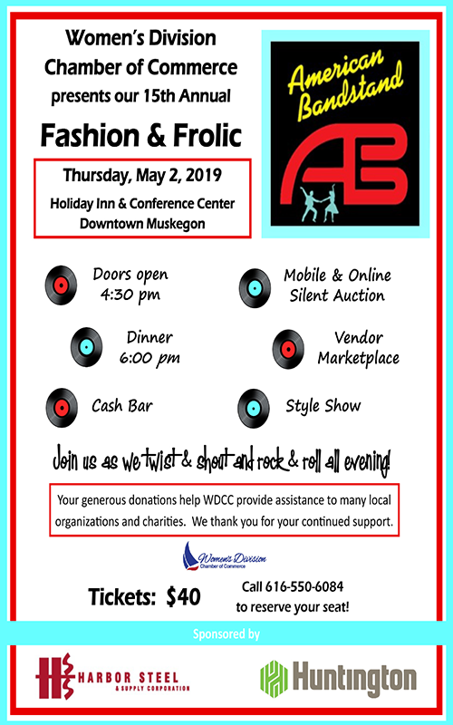May 2 – 15th Annual Fashion & Frolic
