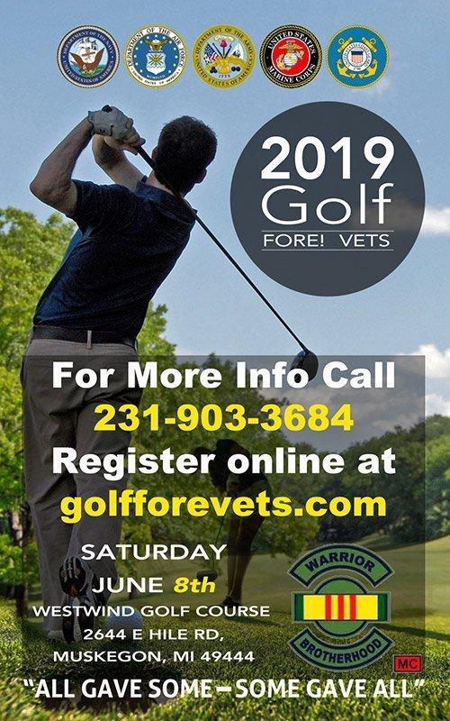Jun 8 – 2019 Golf FORE! Vets